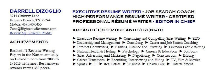 Righteousresumes Com Delivers Real Results Home